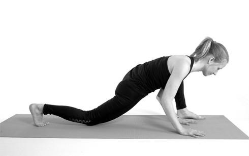 Aufgestelltes Bein Climbingflex Yoga