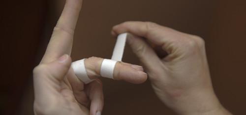 Fingerverletzungen vermeiden