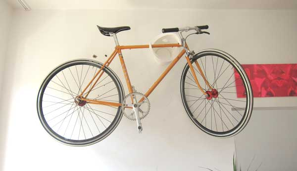 Testbericht Fahrrad Wandhalterung Cycloc Www 2rok De