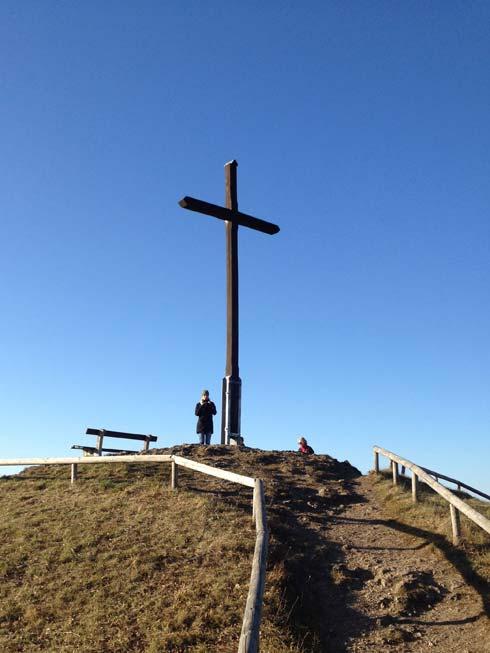 Kreuze ohne Ende am Walberla