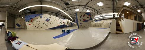 E4 Panorama - Boulderhalle