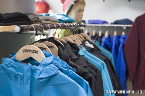 Für jede Witterung die richtige Outdoorbekleidung.