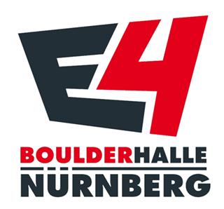 Boulderhalle E4 Logo